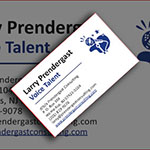 Another business card I designed for a client.